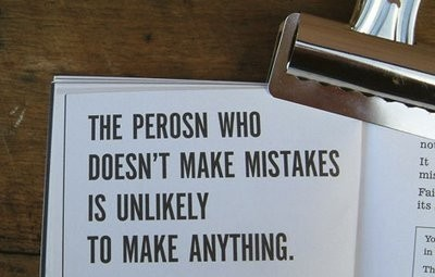 Mistakes are good for learning!